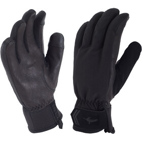 Sealskinz W's All Season Gloves Black/Charcoal